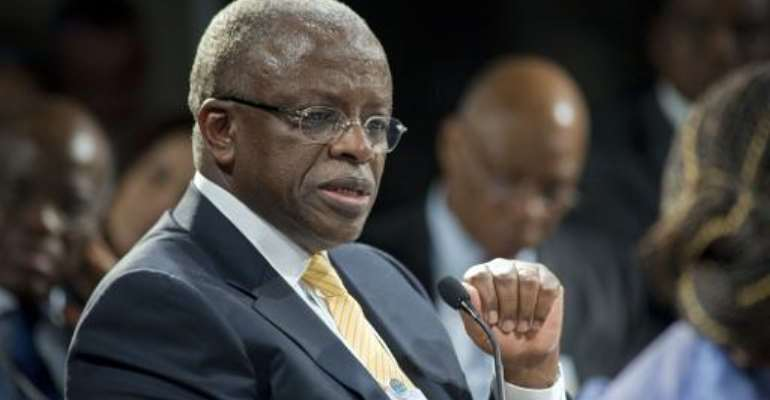 Amama Mbabazi, 66, announced he would challenge his former ally Museveni, for president in elections due next year.  By Rodger Bosch (AFP/File)