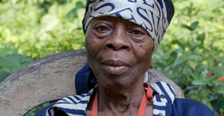 Survivor: Odile Mbouma says she saw dozens of people slaughtered by French troops who were hunting for Cameroonian independence fighters.  By - (AFP)