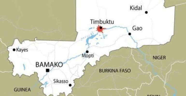 A Swiss woman abducted in rebel-held Timbuktu was rescued by helicopter.  By  (AFP/Graphic)