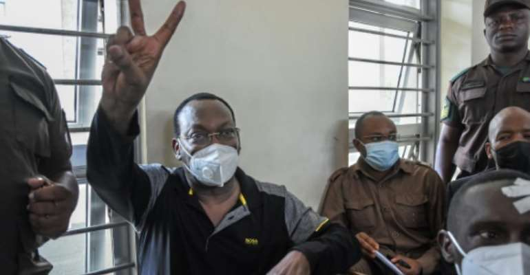 Tanzania Chadema party chairman Freeman Mbowe has been in custody since July 21.  By STRINGER (AFP/File)
