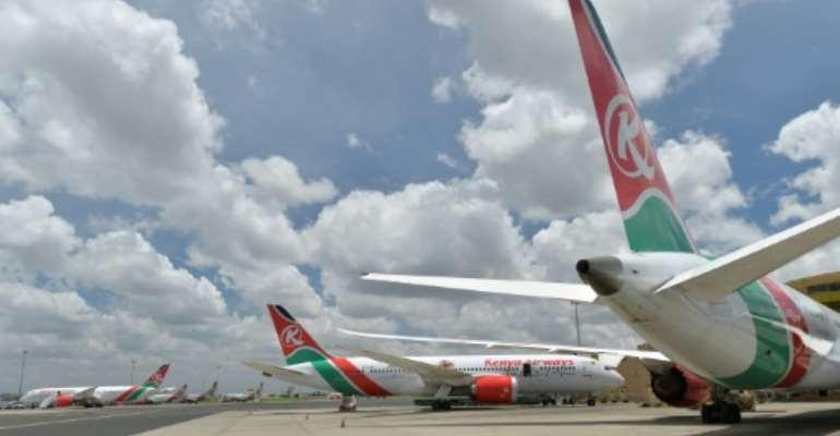 Tanzania has banned Kenya Airways flights as part of a diplomatic spat.  By TONY KARUMBA (AFP/File)
