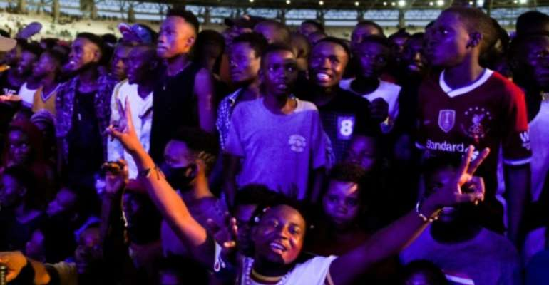 Tanzanians still gather at music and religious events in large crowds without wearing masks.  By STRINGER (AFP/File)