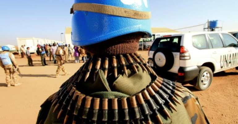 The 12,000-strong UN peacekeeping mission in South Sudan, UNMISS, has faced criticism for failing to stem the latest bloodshed or fully protect civilians during the fighting.  By Ashraf Shazly (AFP/File)