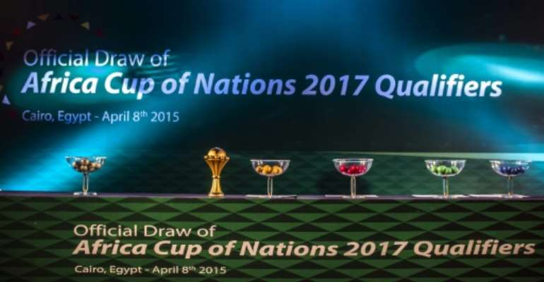 The 2017 Africa Cup of Nations was originally awarded to Libya before it was switched to Gabon following the overthrow of Muammar Gaddafi.  By  (AFP/File)