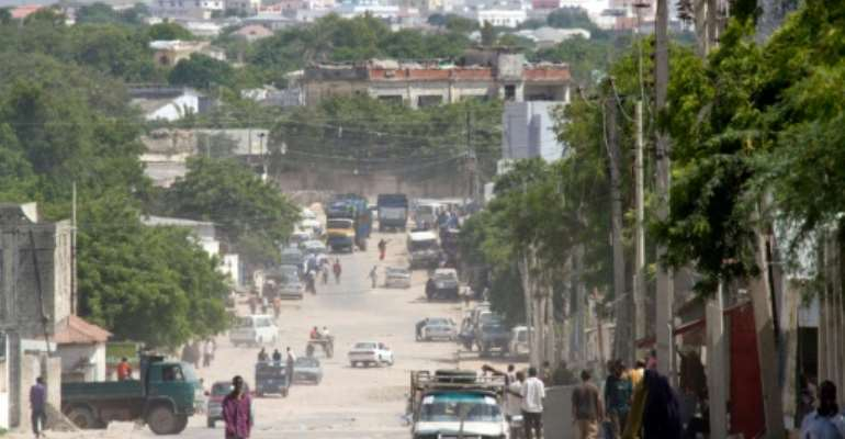 The Al-Qaeda-affiliated Shabaab lost its foothold in Mogadishu in 2011 but has continued its fight, launching regular attacks on military, government and civilian targets in the Somali capital and elsewhere.  By YASUYOSHI CHIBA (AFP/File)
