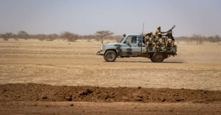 The army said its troops had killed dozens of terrorists and destroyed a base.  By OLYMPIA DE MAISMONT (AFP/File)