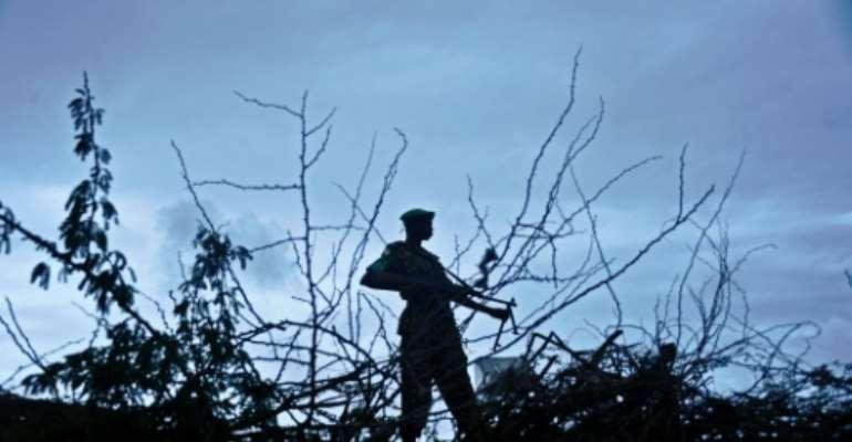 The AU peacekeeping force AMISOM had helped fight the Al-Qaeda linked militants.  By MOHAMED ABDIWAHAB (AFP/File)