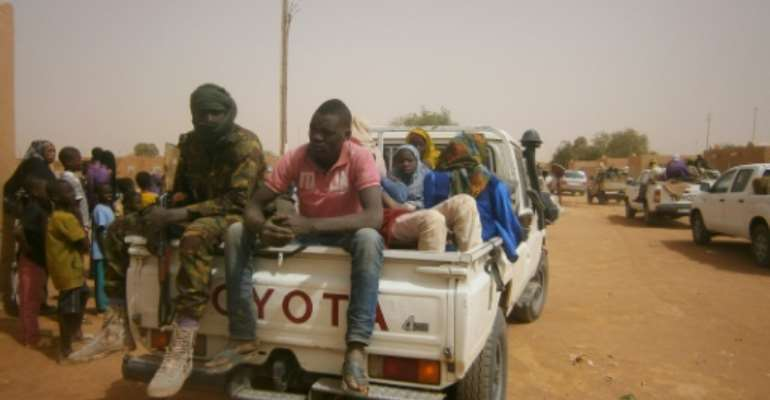 The authorities in Niger have faced an ongoing battle trying to stop Libya-bound migrants from crossing the Sahara.  By STR (AFP/File)