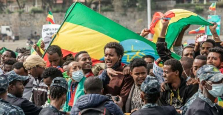 The call to fight Tigray rebels from Ethiopia's Amhara region, which follows a similar one made by the Afar region on Friday, highlight the potential for the Tigray war to draw in the rest of the country.  By Amanuel Sileshi (AFP)
