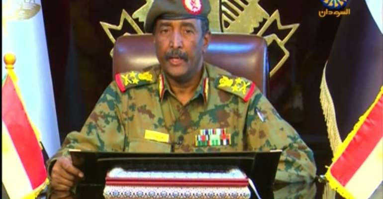 The chairman of Sudan's new civilian-majority sovereign council, General Abdel Fattah al-Burhan, will be head of state for 21 months until he makes way for a civilian.  By - (SUDAN PRESIDENTIAL PALACE/AFP)