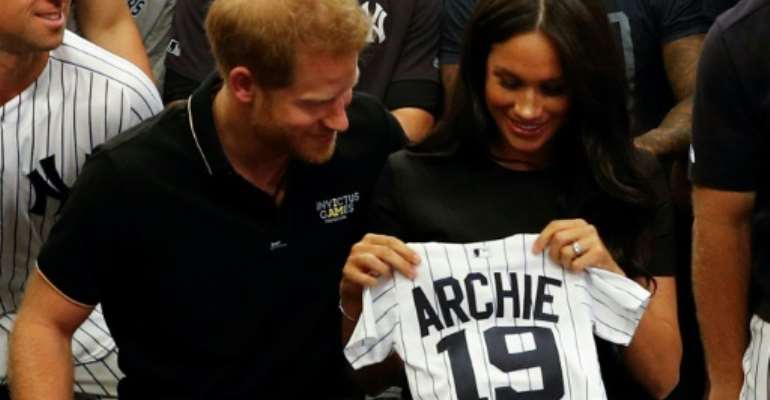 The couple have tried to keep baby Archie out of the public eye  (file picture).  By PETER NICHOLLS (POOL/AFP/File)