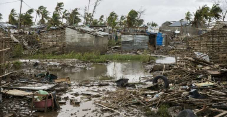 The cyclone death toll has risen in Mozambique.  By WIKUS DE WET (AFP)