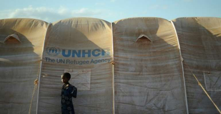 The Dadaab refugee camp is home to about 230,000 people.  By TONY KARUMBA (AFP)