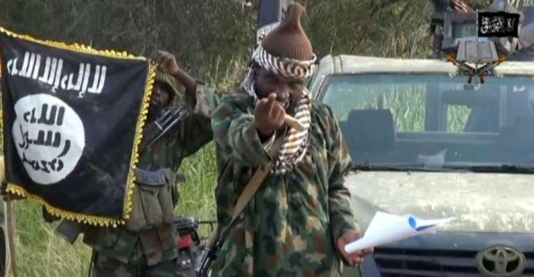 The death of Boko Haram commander Abubakar Shekau marked a major shift in Nigeria's grinding 12-year insurgency.  By Handout (BOKO HARAM/AFP/File)