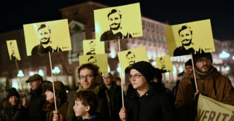 The death of student Giulio Regeni sparked outrage in Italy.  By Marco BERTORELLO (AFP/File)