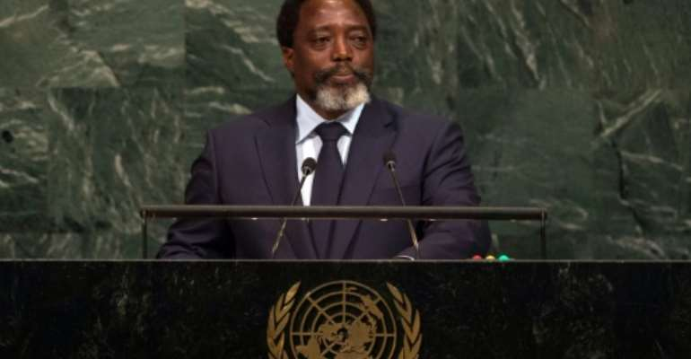 The Democratic Republic of Congo has faced violence after President Joseph Kabila (seen in September 2017), who refused to step down after his final term last December, pushed back a new vote until December 2018.  By Bryan R. Smith (AFP/File)