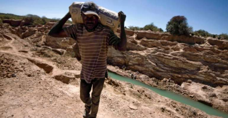 The Democratic Republic of Congo is the world's largest producer of cobalt.  By JUNIOR KANNAH (AFP/File)