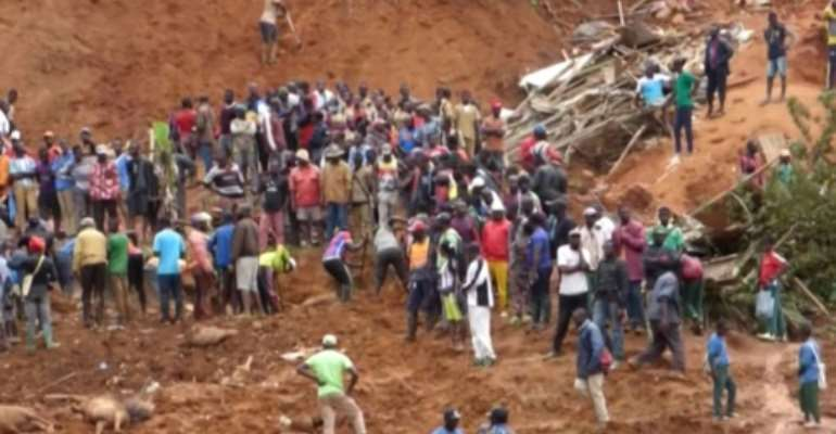 The disaster followed two days of torrential rain in the city of Bafoussam.  By - (AFP)