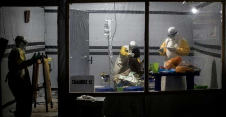The DR Congo declared a tenth outbreak of Ebola in 40 years last August.  By John WESSELS (AFP/File)