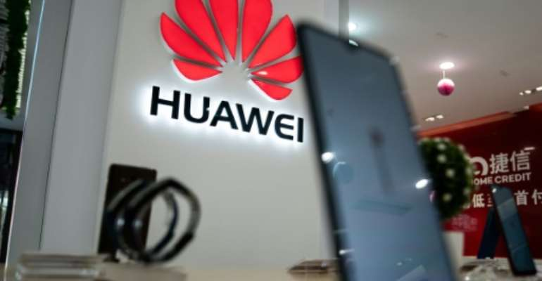 The draft deal will reinforce cooperation between Huawei and the African Union in areas such as cloud computing, artificial intelligence and high-speed networks.  By FRED DUFOUR (AFP)