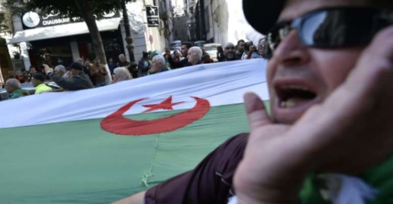 The draft law on Algeria's energy sector has been added to protesters' list of grievances with the ruling class.  By RYAD KRAMDI (AFP/File)