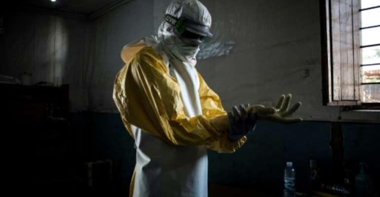 The Ebola outbreak in DR Congo has claimed more than 2,000 lives -- but controversy has arisen over the use of funding to tackle the disease.  By John WESSELS (AFP/File)