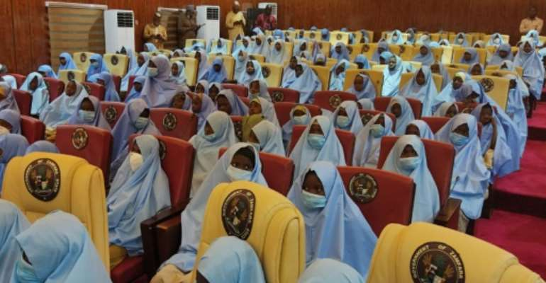 The girls were abducted on Friday from their hostels by gunmen known locally as bandits.  By Aminu ABUBAKAR (AFP)