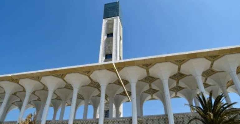 The Great Mosque of Algiers is also known as Djamaa el Djazair.  By RYAD KRAMDI (AFP)