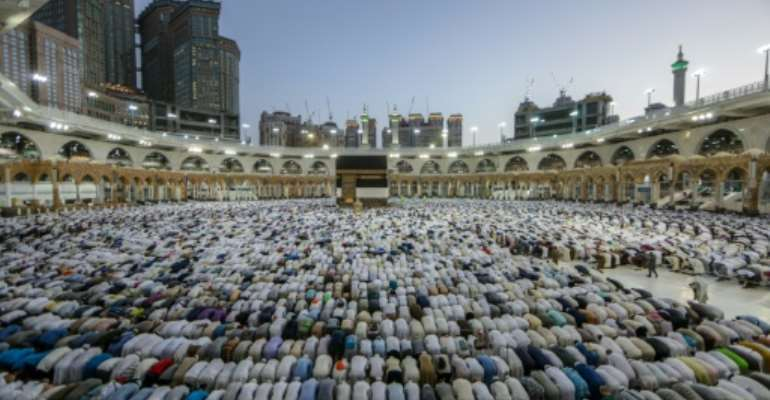 The hajj is one of the world's largest religious gatherings.  By Abdel Ghani BASHIR (AFP)