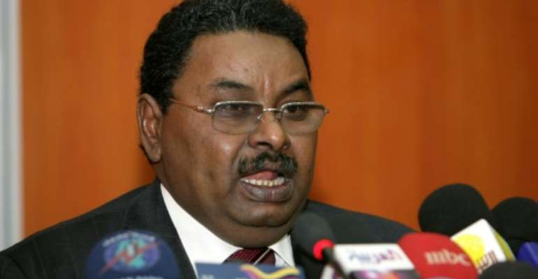 The head of Sudan's feared National Intelligence and Security Service, Salih Ghosh, oversaw a sweeping crackdown against protesters taking part in four months of mass demonstations that led to the army's ouster of veteran president Omar al-Bashir.  By ASHRAF SHAZLY (AFP/File)