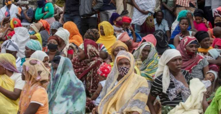The insurgency has displaced around 800,000 people, according to the UN.  By Alfredo Zuniga (AFP/File)