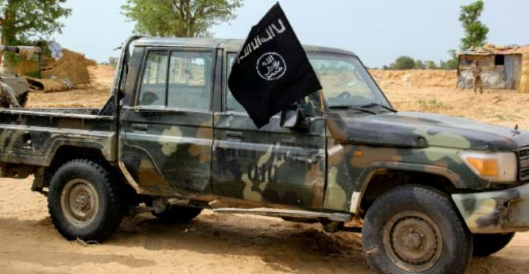 The Islamic State West Africa Province (ISWAP) group broke away from Boko Haram in 2016 and has ramped up attacks against the military since last year.  By AUDU MARTE (AFP/File)