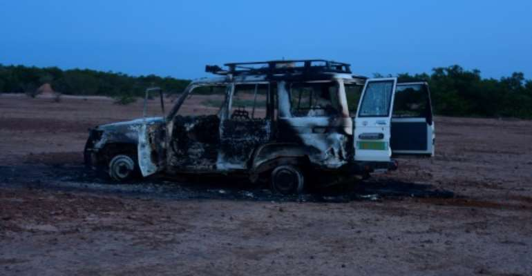 The killings on Sunday of six French aid workers, their local guide and driver were the first by jihadist gunmen in that area.  By BOUREIMA HAMA (AFP/File)
