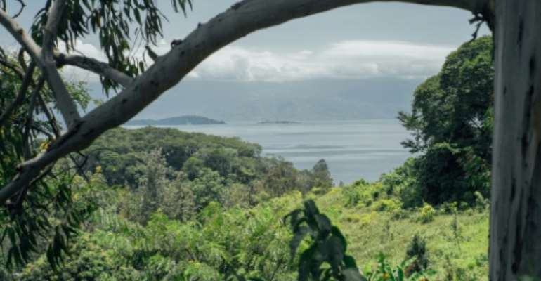 The Lake Kivu island of Idjwi in DR Congo is a haven of peace in a region where dozens of armed groups have operated for decades.  By Luke DENNISON (AFP)