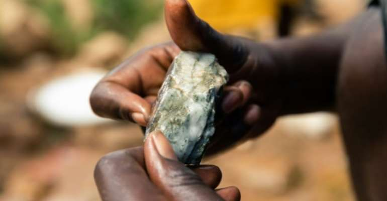 The landlocked southern African country boasts vast gold reserves.  By Jekesai NJIKIZANA (AFP/File)