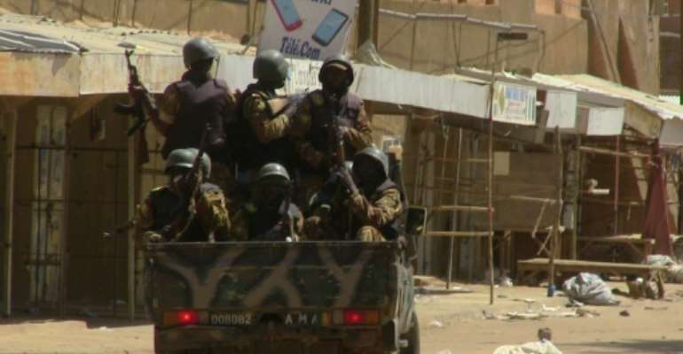 The latest clashes between Malian troops and jihadists highlight the fragile security situation in the West African nation as it prepares to hold elections on July 29.  By SOULEYMANE  AG ANARA (AFP/File)