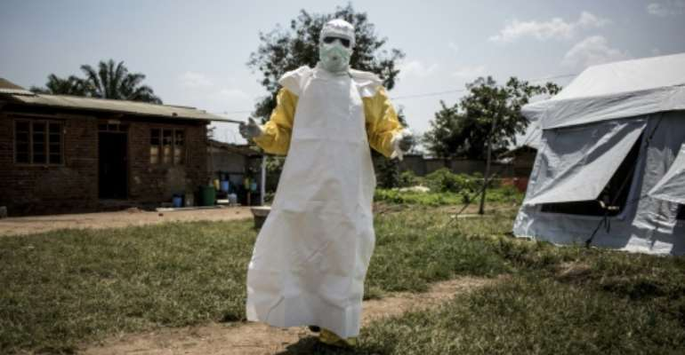 The latest outbreak of Ebola is spreading in the northeastern DR Congo region of North Kivu.  By John WESSELS (AFP)