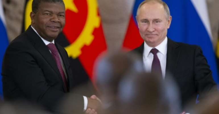 The leaders of former Soviet client states such as Angola and Ethiopia will be at the summit.  By Alexander Zemlianichenko (POOL/AFP/File)
