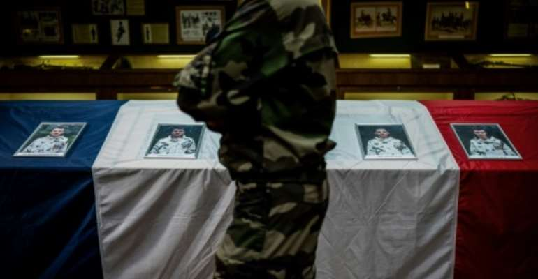 The Mali deaths were the heaviest single loss for the French military in nearly four decades.  By JEFF PACHOUD (AFP)