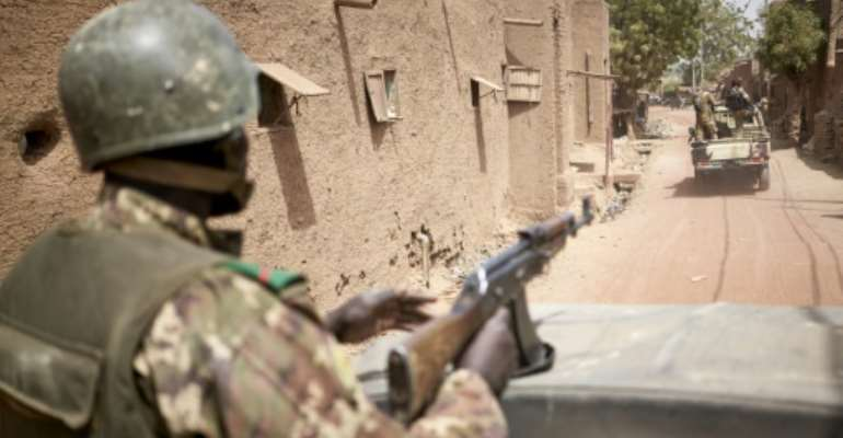 The Malian army is under increasing attacks.  By MICHELE CATTANI (AFP/File)