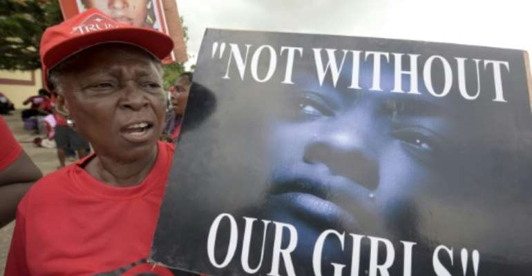 The mass abduction sparked a global campaign --