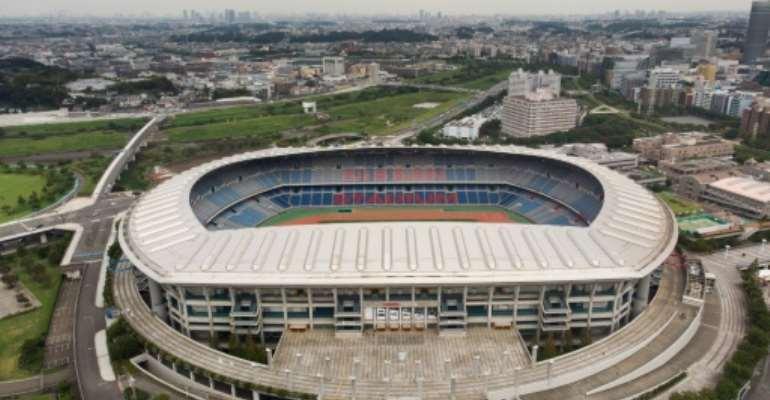 The match will be played at the Yokohama International Stadium.  By Martin BUREAU (AFP/File)
