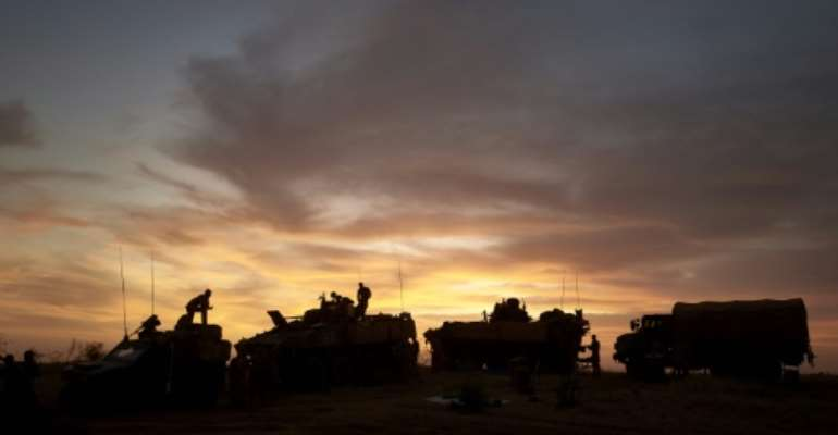 The mission was the first official joint ground operation between the French army and a five-nation Sahel force.  By MICHELE CATTANI (AFP)