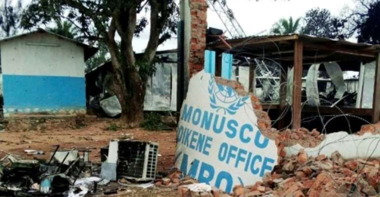 The mounting death toll has sparked anger against MONUSCO, one of the biggest UN peacekeeping operations in the world.  By ALBERT KAMBALE (AFP/File)