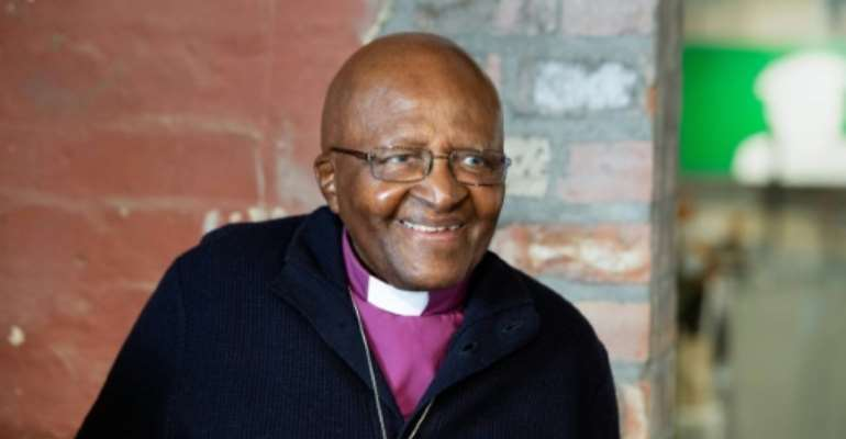 The much loved Tutu has been battling prostrate cancer for over two decades.  By RODGER BOSCH (AFP/File)