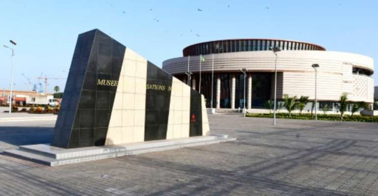 The Museum of Black Civilisations (MCN) in Dakar is set to open on December 6.  By SEYLLOU (AFP)