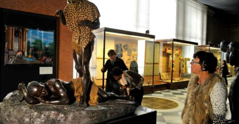The museum reopened after a major refurbishment.  By GEORGES GOBET (AFP/File)
