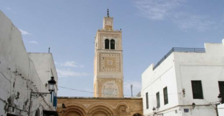The National Heritage Institute in Tunis.  By  (AFP)