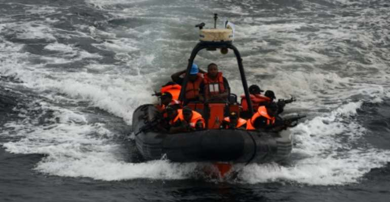 The Nigerian Navy has a special forces unit trained to intervene against pirates.  By PIUS UTOMI EKPEI (AFP)