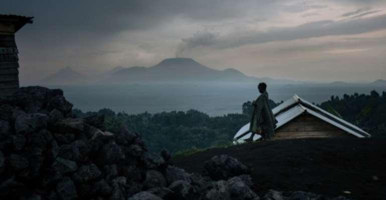 DR Congo's Nyiragongo volcano erupts sparking panic